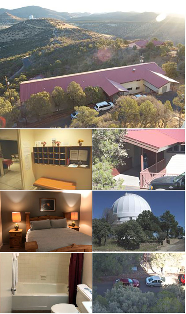 photos collage astronomers lodge